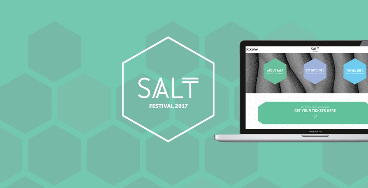 SALT FESTIVAL BRAND + WEB LAUNCH